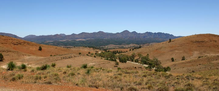 Flinders Ranges - Wilpena Pound